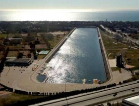 Castelldefels_Vista_aerea_canal Olimpico