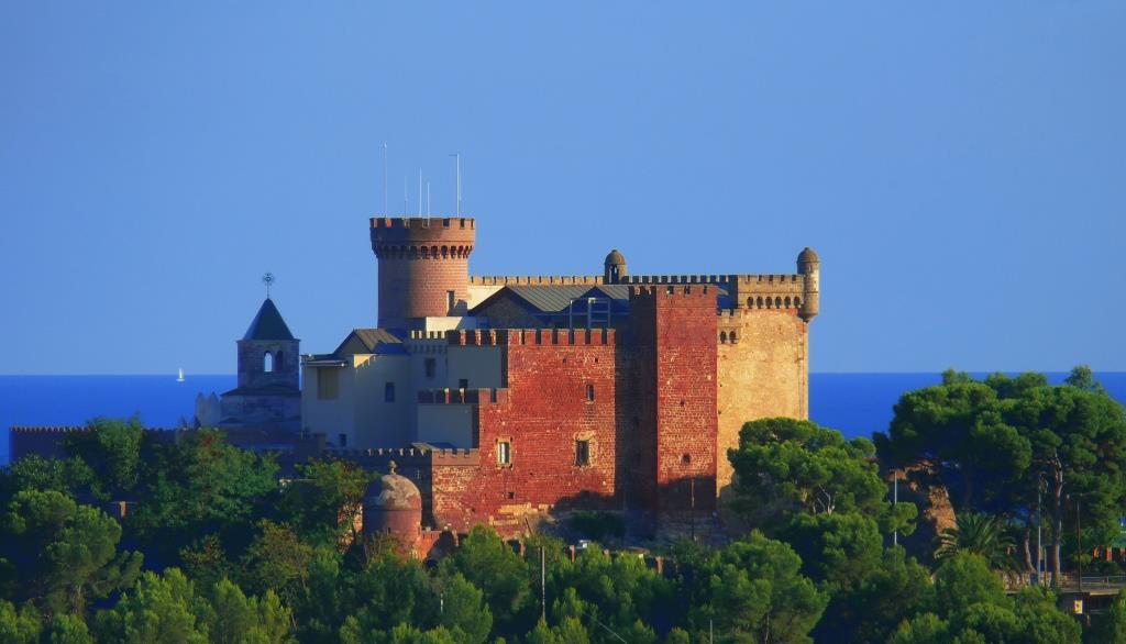 CГіmo llegar al Castillo de Castelldefels